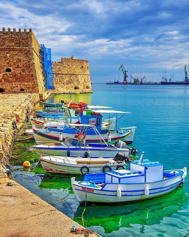 Heraklion Town, Crete Island