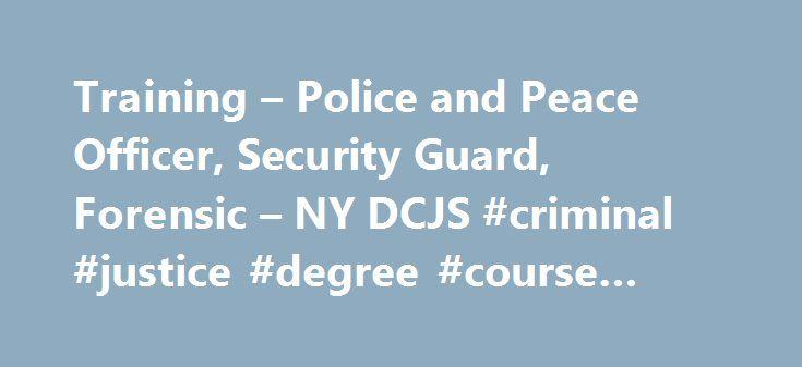 Criminal justice degree coursework