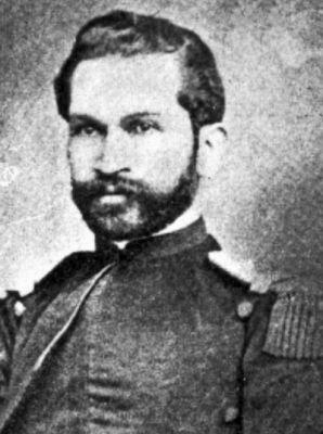 """TENIENTE CORONEL JUAN MARTÌNEZ (1827-1881) """"Comandante del Batallón Cívico """"Atacama"""", héroe de la toma de Pisagua, la batalla de Dolores y de los Ángeles. Su vida de abnegada entrega al uniforme culminó súbitamente durante la batalla de Miraflores, alcanzado por el fuego de metralla En Tacna, Martinez perdIò a sus 2 hijos; el propio Coronel Martinez, cayo en Combate en las trincheras de Miraflores, a las puertas de Lima, siendo el Oficial chileno de mas alto rango muerto en la Guerra del…"""