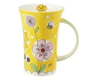 Mila Coffee Pot Landblumen von Mila Design - Mein Mila Laden - Der Online-Shop