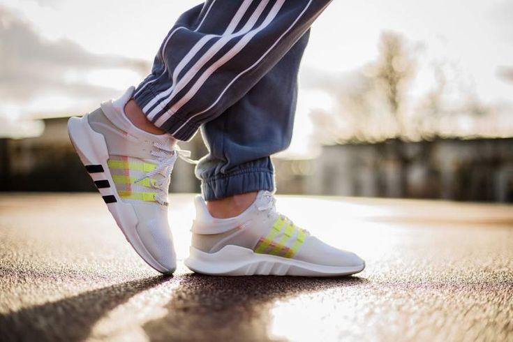 adidas - EQT Support ADV W (weiß / gelb) - DB0401