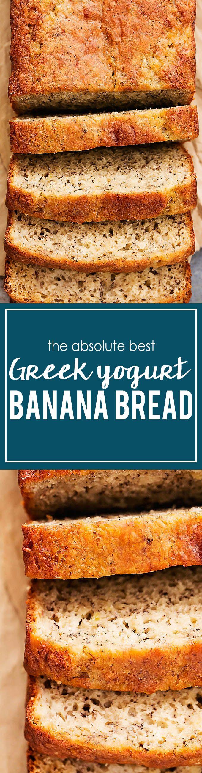 Greek Yogurt Banana Bread | Creme de la Crumb