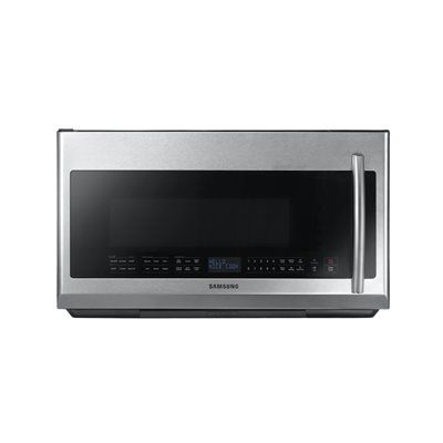 Samsung 2.1 cubic ft Over-The-Range Microwave w/ Sensor Cooking Controls (Common: 30-in; Actual 29.8-in)