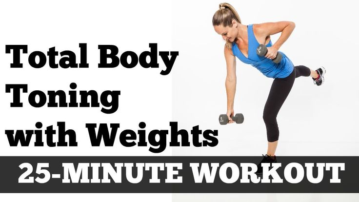 Full Body Full Length Fat Burning Workout | Total Body Toned 25 Minute H...