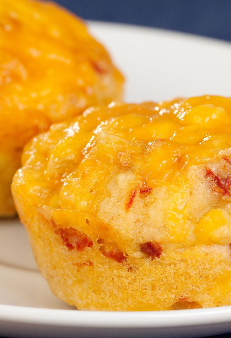 Southern Cornmeal Muffins #meatless