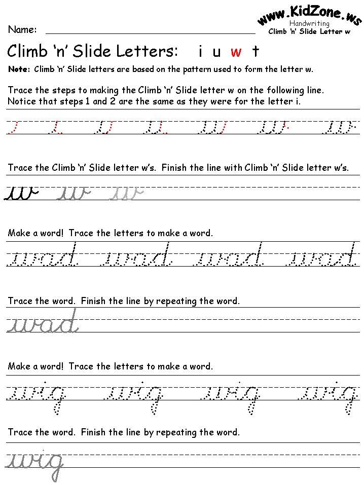 54 best cursive images on Pinterest | Cursive writing worksheets ...