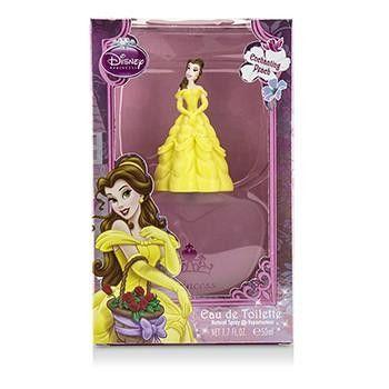 Disney Belle Eau De Toilette Spray (3D Rubber Edition) - 50ml-1.7oz