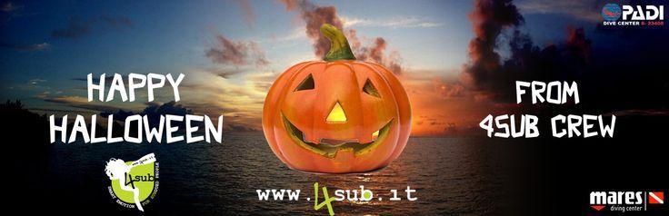 Happy Halloween from 4Sub Staff