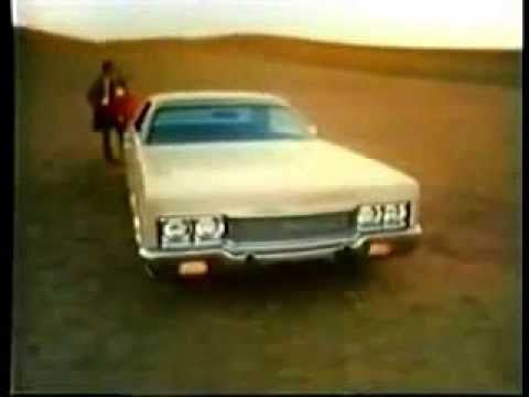 1973 Chrysler Newport Commercial featuring Richard Basehart as the Voiceover - YouTube
