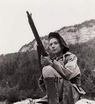 Nancy Wake: French Maquis, SOE operative, and bane of the Gestapo (she once killed an SS officer with her bare hands). She was the most decorated Allied woman of WWII.
