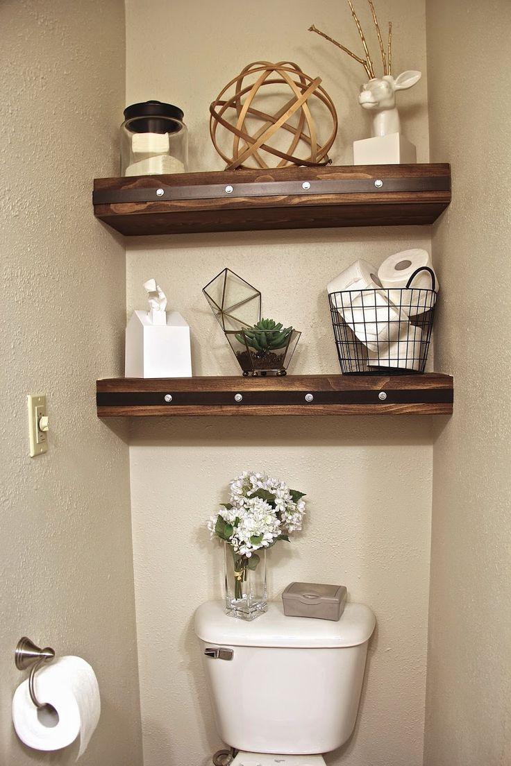 Best 25+ Shelves over toilet ideas on Pinterest | Toilet ...