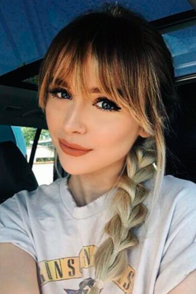 Best 25+ Bangs hairstyle ideas on Pinterest | Side part ...