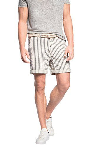 270 kr. ESPRIT Men's mit Gürtel Gestreift 055EE2C008 Short, White (Off White 103), Large (Manufacturer size: 33) ESPRIT http://www.amazon.co.uk/dp/B00SH89KGW/ref=cm_sw_r_pi_dp_tDd5wb03J9787