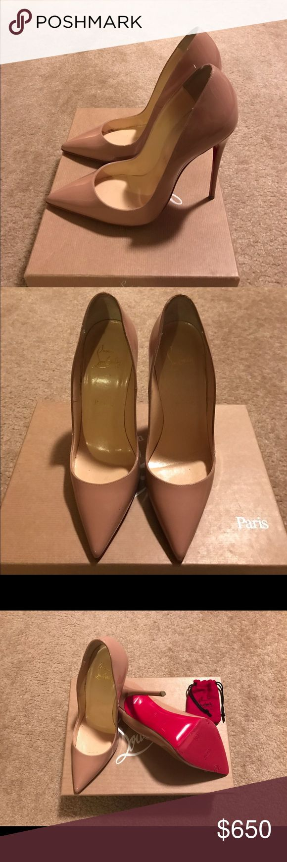 Christian Louboutin pumps Beautiful Christian Louboutin  pumps (worn 2 times) Christian Louboutin Shoes Heels
