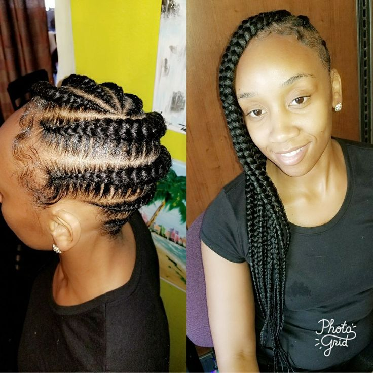 Jumbo Lemonade Braids Lemonade Braids Cornrow Ponytail