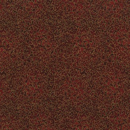 Robert Kaufman Fabrics: EYJM-6644-118 RUBY from Fusions® 6644