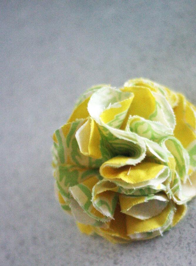 Polkadot Lane: Creative Space : Flower Frill