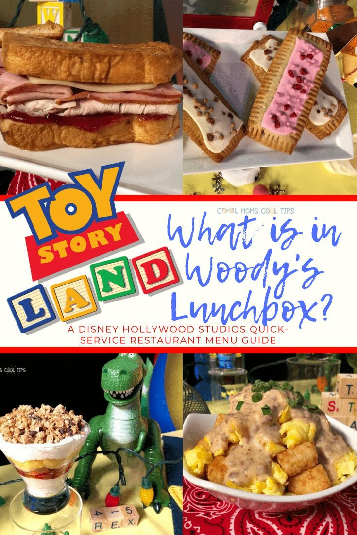 Toy Story Land Food What Is In Andy S Lunchbox Walt