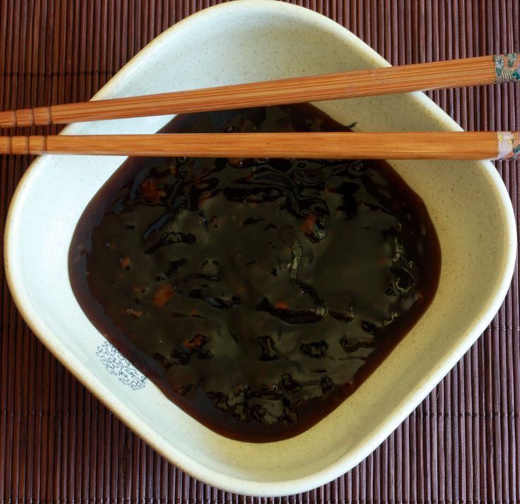 Homemade Teriyaki Sauce. Ingredients:      ½ cup soy sauce     ¼ cup brown sugar     1½ teaspoons fresh ginger, minced     1 teaspoon garlic, minced     1 tablespoon honey     1 teaspoon sesame oil     3 tablespoons mirin (see note)     ¼ cup water mixed with 3 teaspoons cornstarch
