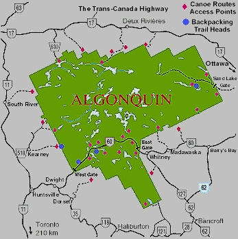 Algonquin Provincial Park, The scariest camping trip ever!!! lol