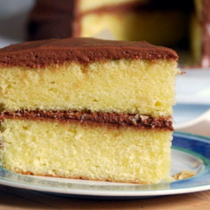 X Yellow Cake Recipe
