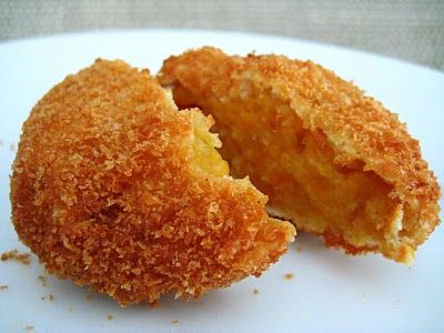 Japanese Pumpkin Croquettes, miss that Japanese restaurant across from our hotel in China.