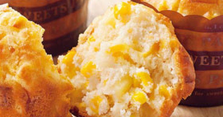 コーンとチーズのマフィン by おいしいコープ [クックパッド] 簡単おいしいみんなのレシピが260万品
