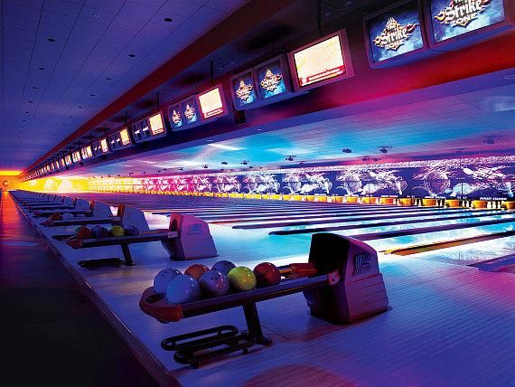 Enjoy New Year S Eve With A Cosmic Bowling Party At Four Station Casinos Bowling Centers Bowling Center Cosmic Bowling Bowling