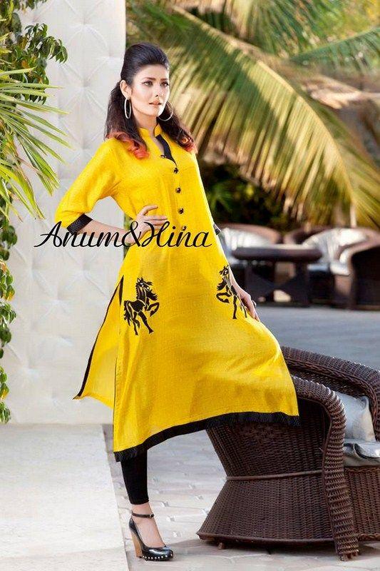 Anum And Hina Spring Dresses 2014 For Women