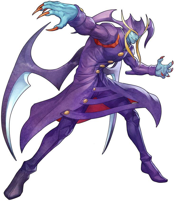 Jedah Dohma from Darkstalkers Resurrection