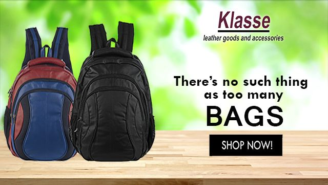Looking for a new backpack? Shop pure leather Backpack for Men online at www.klasseleather.in. #Bags #Leather #Backpack #Men