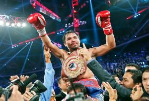Pacquiao: Patronizing Mayweather-McGregor fight up to fans