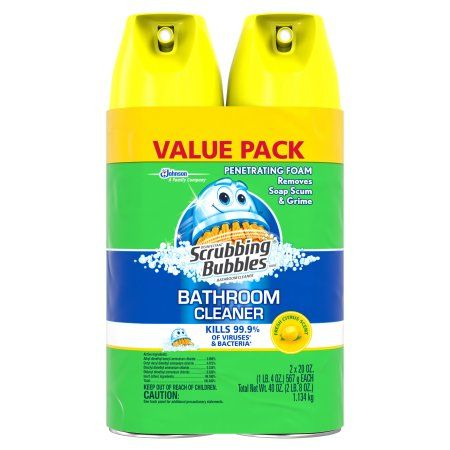 Free 2-day shipping on qualified orders over $35. Buy Scrubbing Bubbles Disinfectant Bathroom Cleaner, Citrus Scent, 20 Ounces, 2 count at Walmart.com