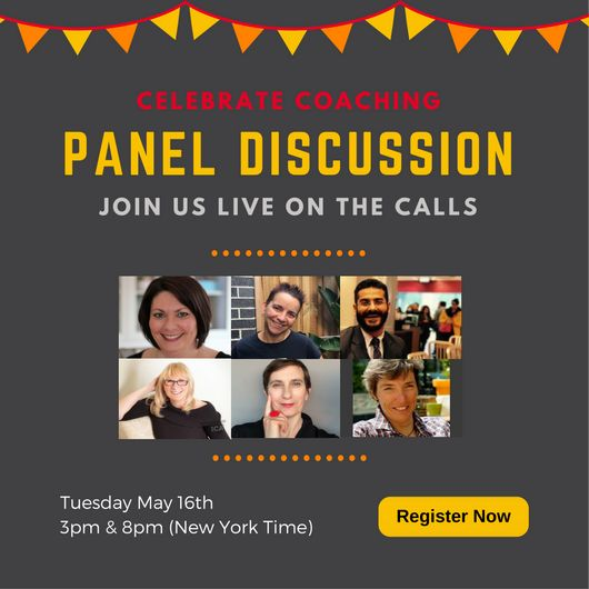 Join Our Live Panel Discussion Join our panel discussion as ICA Coaches share their experience with coaching. Hosted by Robyn Logan (CEO) and Merci Miglino (Training Director), these calls are a great opportunity to meet our community and find out more about 'The Day in the life of a coach'. #internationalcoachingweek #teleseminars #ICACoaches #RobynLogan(CEO) #MerciMiglino(Training Director) #TheDayinthelifeofacoach