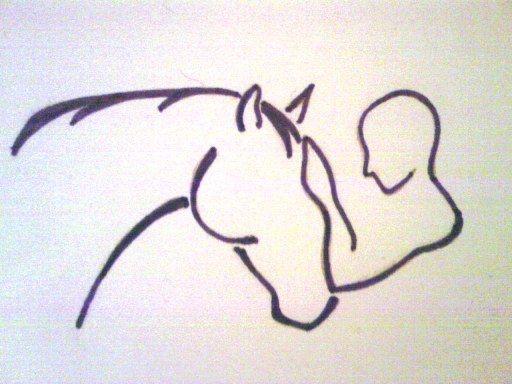 As 51 melhores imagens em desenho de cavalo no pinterest for Thoroughbred tattoo lookup