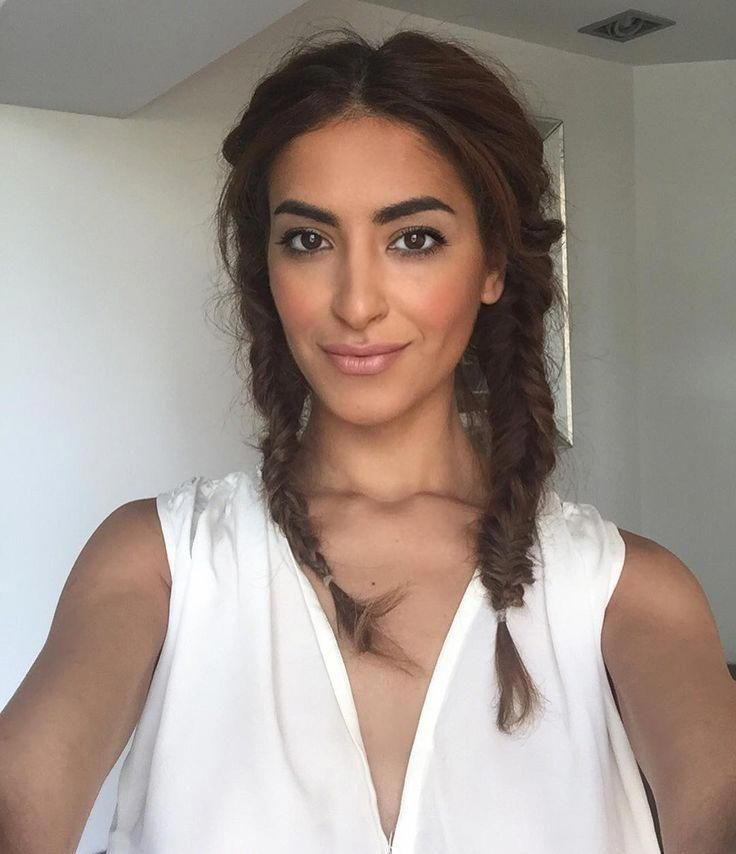 embrace your inner lazy girl with this messy-chic pigtail look #messyBraided