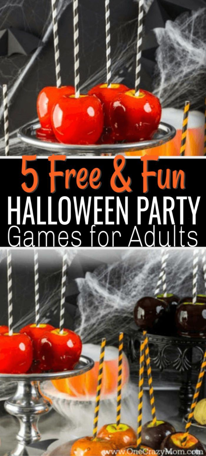 Halloween party games for adults Halloween party ideas