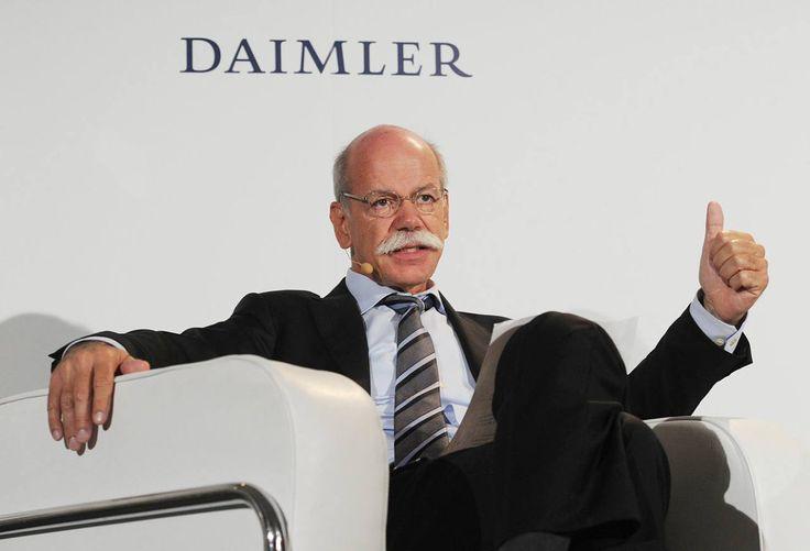 Daimler-Chef Dr.-Ing. Dieter Zetsche (astro #snake) gibt Gas: Mercedes will BMW und Audi bis 2020 überholen - FOCUS Online