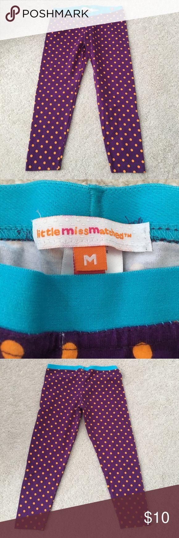 Little Miss Matched Leggings, NWOT Little Miss Matched Leggings, NWOT, size M 7/8 Little Miss Matched Bottoms Leggings