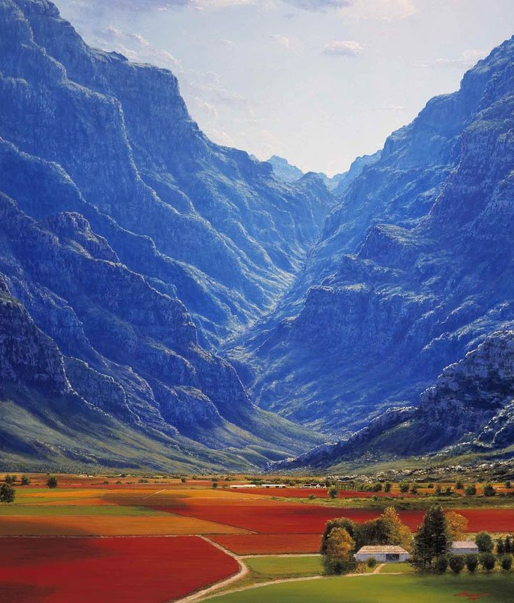 Hex River Valley, Western Cape, South Africa. One of that sites you are not sure if it really exists...