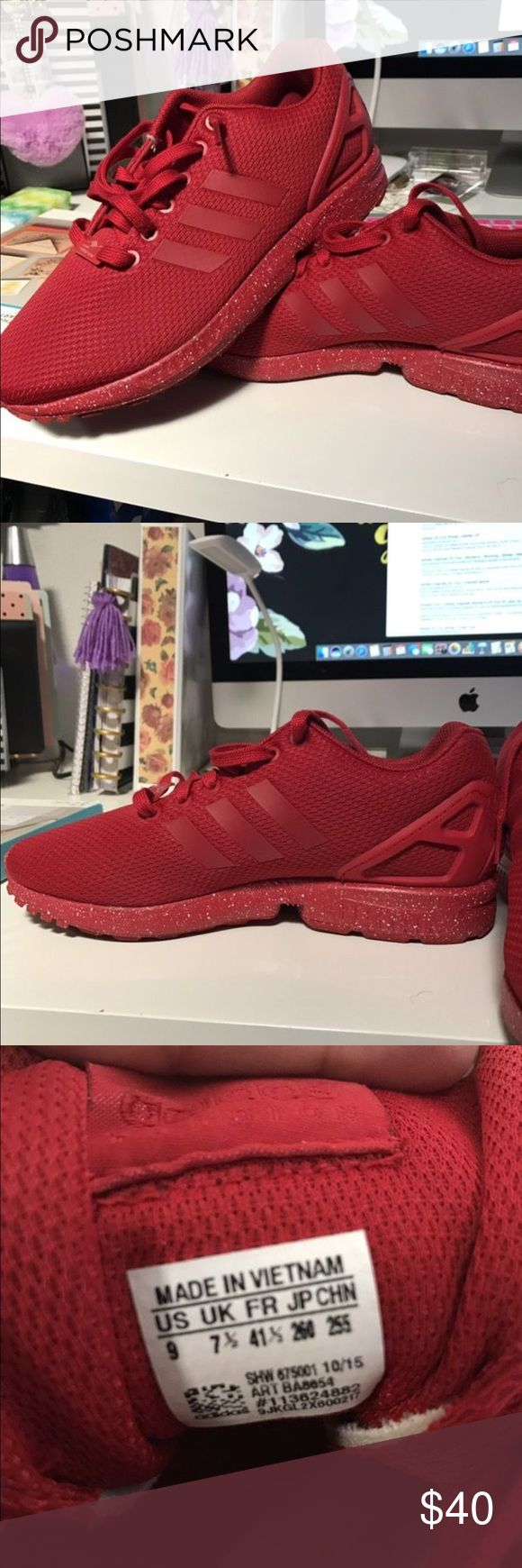 Adidas Torsion zx flux (women's) size 9 Used twice. Excellent condition. adidas Shoes Sneakers