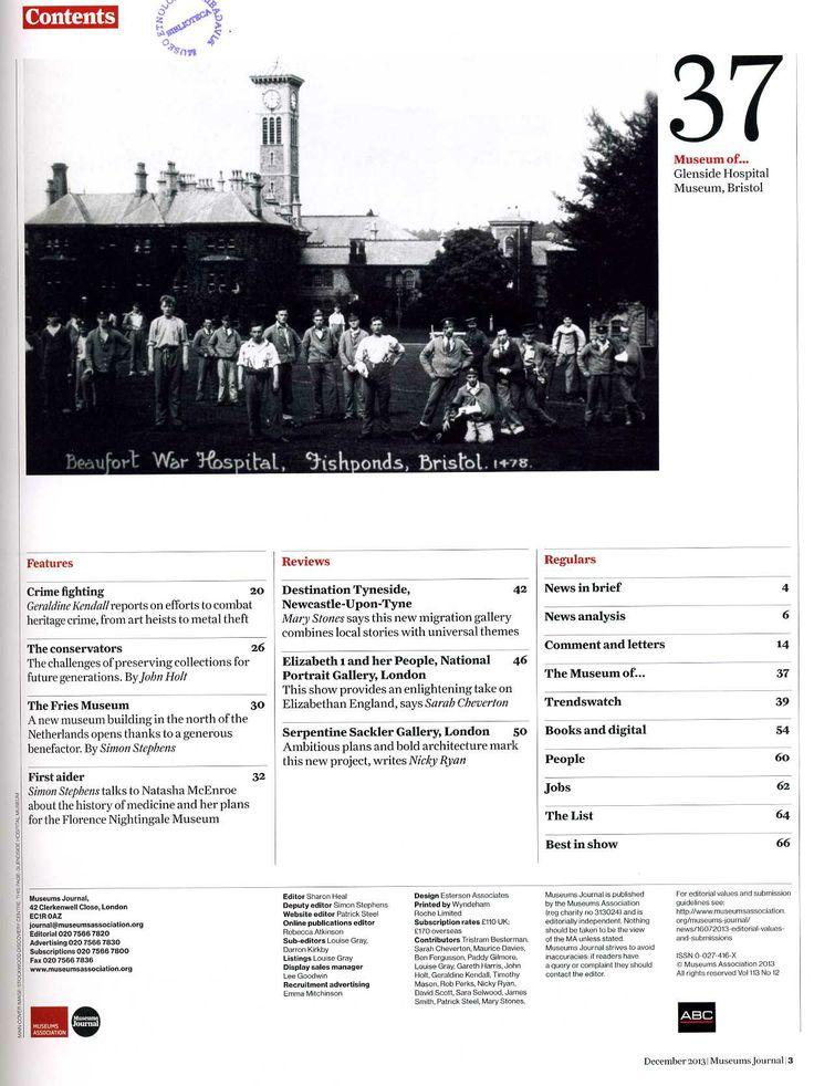 Museums journal nº 113 (2013)