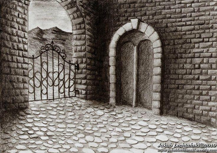 "Rysunek ""Brama / Portal"" 2010. Drawing of Gate / Portal"