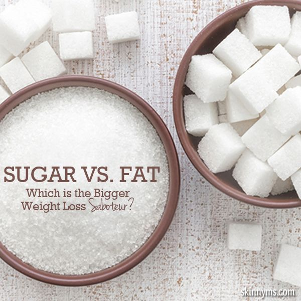 Sugar Vs. Fat - which is worse?  #sugar #fat #cleaneating