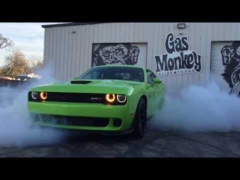 Richard Rawlings Test Drive of 2015 Dodge Challenger Hellcat – Gas Monkey Garage | Wild Boys TV