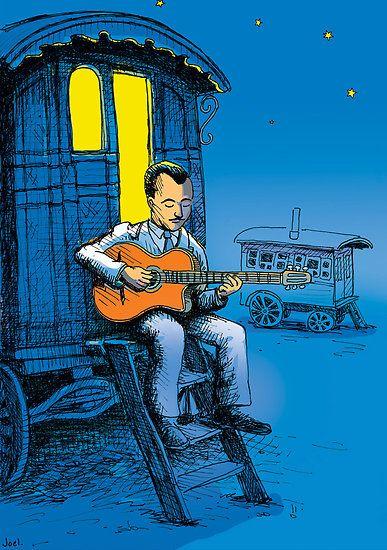 Django Reinhardt by Joel Tarling