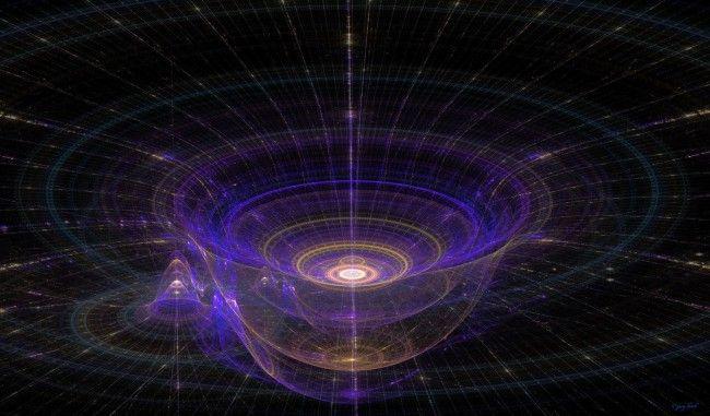 эта схема показывает как именно гравитация искажает пространство, соответственно гравитация не только притягивает но и искажает. соответственно в своей работе мне надо будет и сказать и притягивать.