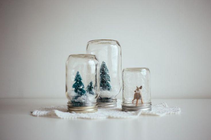 SNOW GLOBES | DIY
