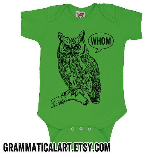Owl Toddler Shirt Baby Boy Clothes Grammar Shirt Grammar