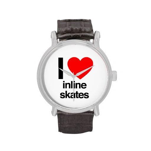 amo #patines en línea #relojes de pulsera